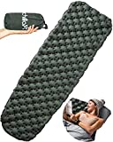 Chillax Ultralight Air Sleeping Pad – Inflatable Camping Mat...