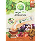 Sugarlike Zero Calorie Sweetener with Monk Fruit- Single-Serve Sticks, 40 Count