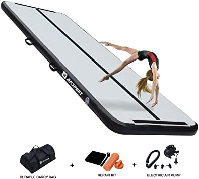 Amazon.com: Air Track - Colchoneta hinchable para gimnasia ...