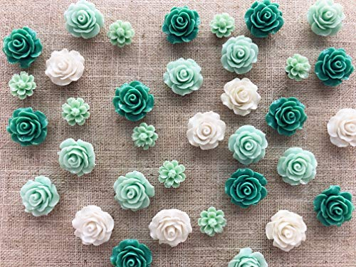 Decorative Wall Tacks (24Pcs Decorative Pushpins,Cork Board Tacks,Bulletin Board Tacks,Thumb Tack Decorative for CorkBoard, Office Organization or Home)