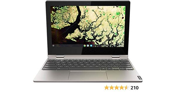 "Lenovo chromebook c340 2-in-1-11. 6"" hd touch - celeron n4000-4gb - 32gb emmc - gray"