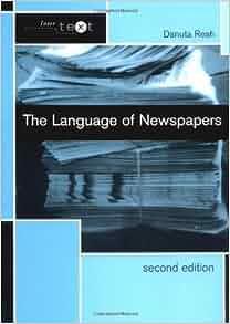 The language of newspapers danuta reah