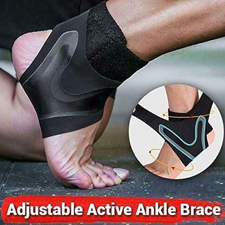 lzndeal Adjustable Active Ankle Brace,Sport,Running,Women,Men,Ankle,Adjustable Active Ankle Brace Support Breathable for Sport Running Women Men
