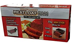 The Perfect Lift & Serve Meatloaf Pan