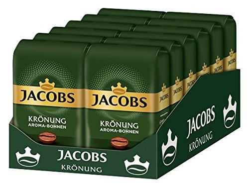 JACOBS KRONUNG WHOLE BEAN AROMA BOHNEN COFFEE CASE 12 x 500g by JACOBS WHOLE BEAN COFFEE (Image #4)