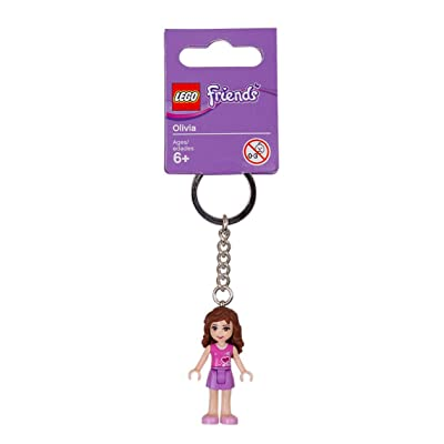 LEGO Friends Key Chain Olivia 853551: Toys & Games