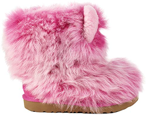 UGG Kids Pinkpuff Classic II Boot, Pink Azalea, Size 4 M US Big Kid]()