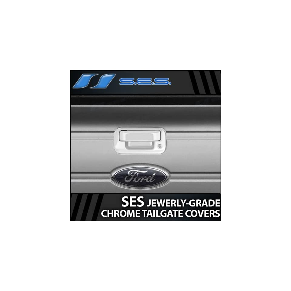2004 2013 Ford F 150 SES Chrome Tailgate Handle Cover (tailgate)