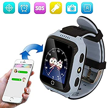 1.44 Pulgadas Touch Kids GPS Tracker Smart Watch SOS Reloj ...