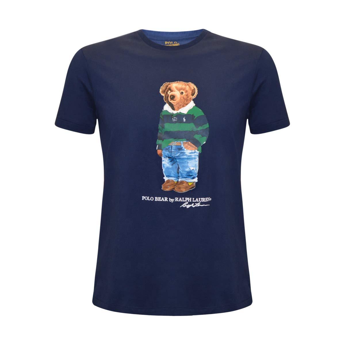 9fb5d5de9 Amazon.com  Polo Ralph Lauren Mens Limited Polo Bear T-Shirt  Clothing