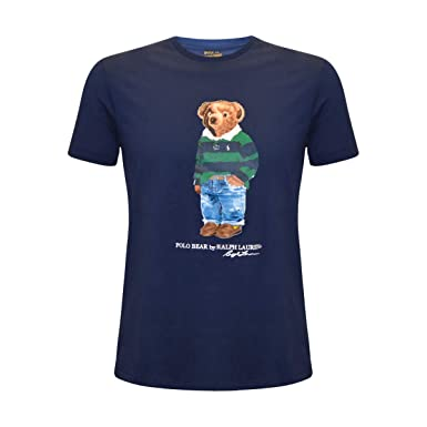 0df818b5a Amazon.com: Polo Ralph Lauren Mens Limited Polo Bear T-Shirt: Clothing