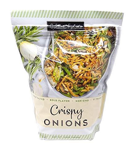 Golden Farms Crispy Fried Onions, Non-GMO, Kosher, (1-Pack) ()
