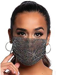 Women's Rhinestone Fashionable Face Mask