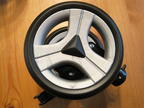 Peg Perego Doppel Hinterrad links Aria OH silber schwarz ab Modell 2007