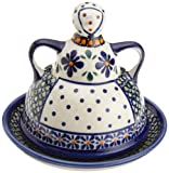 Bunzlauer Polish Pottery Butter Lady, DU60 Design