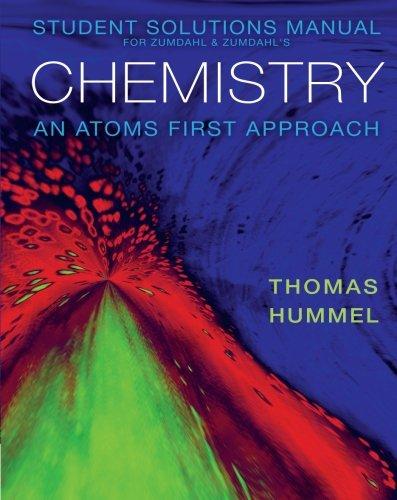 Student Solutions Zumdahl DeCostes Chemistry