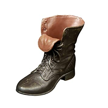 """1//6 Scale Rubber Made Leather Boots For 12/"""" Male Hottoys Shideshow Action Figure"""