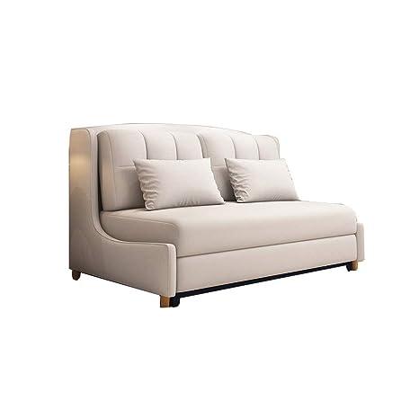 FGDFGDFEEGVD Sofá de Madera, sofá de Oficina, látex Natural ...