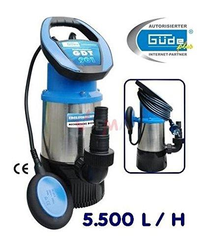 Güde Drucktauchpumpe GDT 901 Tauchpumpe Tauchdruckpumpe max 3,0 bar Pumpe 94246