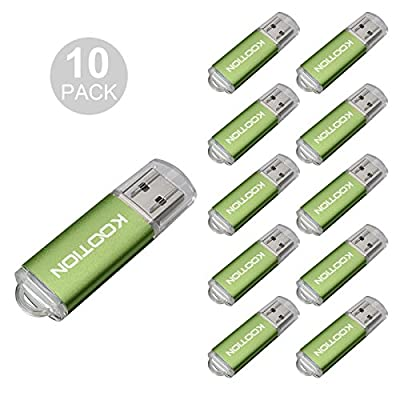 USB Flash Drive 10pack in 5 Colors by KOOTION