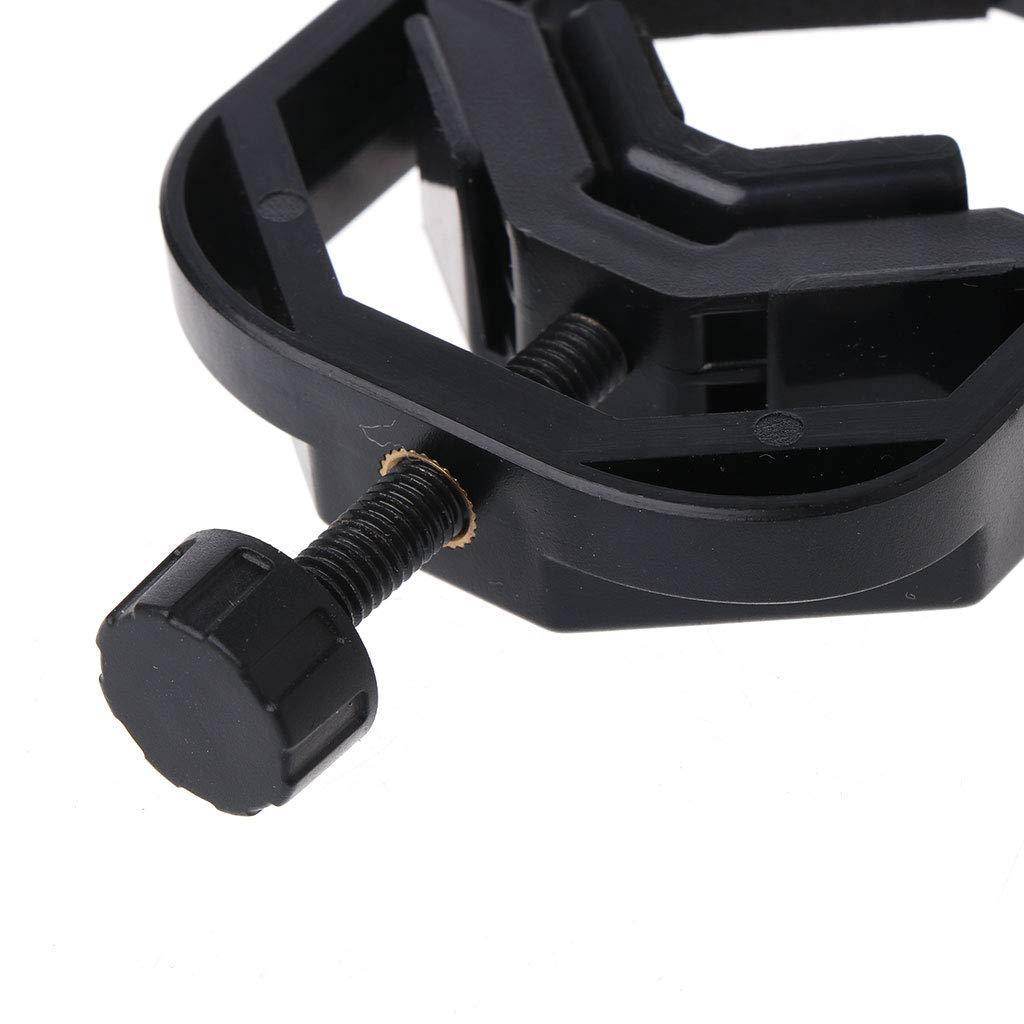 telescopio adaptable Abwan soporte de clip para tel/éfono m/óvil universal Adaptador de tel/éfono m/óvil con abrazadera de resorte para monocular y microscopio
