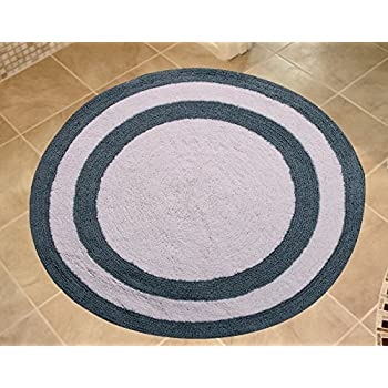 Amazon Com Saffron Fabs Bath Rug 100 Soft Cotton 36 Inch