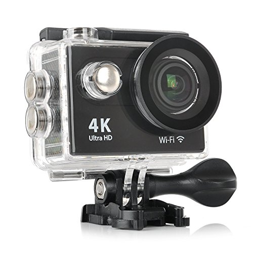 NEXGADGET 4K WIFI Action Camera DISCOVER S2R Series 16MP 170 Degree Wide Angle Waterproof Sports Camera with 24 G Remote Control