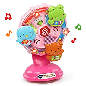 VTech Baby Lil' Critters Spin and Discover Ferris Wheel - Pink - Online Exclusive