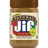 Jif Natural Creamy Peanut Butter Spread, 28 oz.