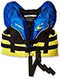 O'Neill Wetsuits Wake Waterski Infant Superlite USCG Life Vest, Pacific/Yellow/Black/Yellow, One Size