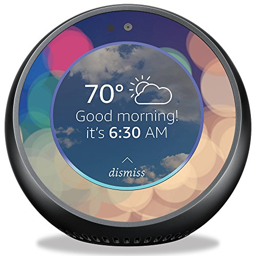 MightySkins Skin for Amazon Echo Spot - Focus   Protective, Durable, and Unique Vinyl Decal wrap Cover   Easy to Apply, Remove, and Change Styles   Made in The USA