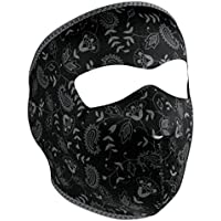 ZANheadgear Neoprene Full Face Mask, Dark Paisley
