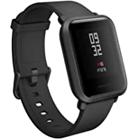 "Amazfit Xiaomi Mi Bip Watch (Wrist (6.5-9"") Black) Huami Smart Bluetooth band with Heart Rate Monitor Pedometer Activity and Sleep Monitor Fitness Tracker GPS IP68 Waterproof"