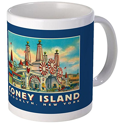 (CafePress Coney Island Luna Park Mug Unique Coffee Mug, Coffee Cup)