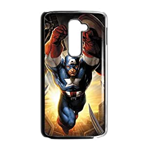 Custom Captain America Desgin High Quality Case Cover Fashion Style for LG G2