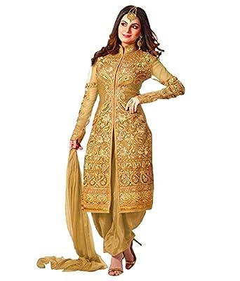 51LXnNxBAEL._UX342_ enesta e commerce women's faux georgette salwar suit set (ft,E Commerce Womens Clothing