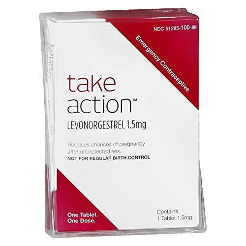Take Action Emergency Contraceptive *Compare to Plan B* Levonorgestrel 1.5 mg 2 Pack = 2 Tablets