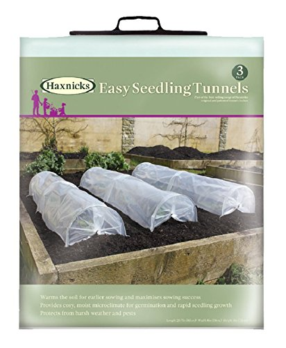 Tierra Garden 50-5080 Haxnicks Easy Seedling Tunnel (3-Pack) by Tierra Garden