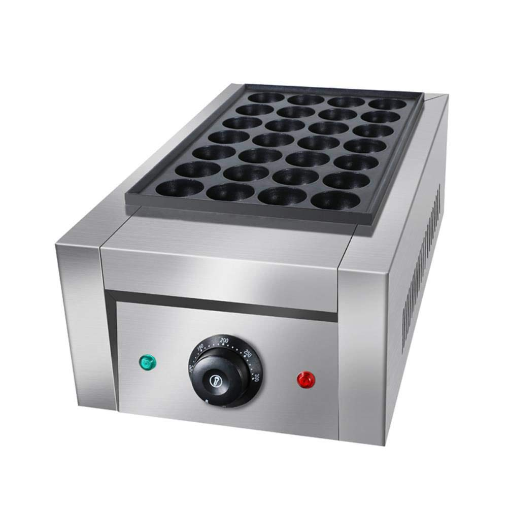 Non-Stick Donut Baking Pans Commercial Electric Octopus Meatball Machine Cooker Grill Gas BBQ Heating Maker Chibi Maruko Baking Pan