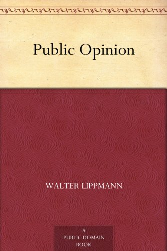 "The cover of ""Public Opinion."""