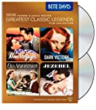 TCM Greatest Classic Film Collection: Legends - Bette Davis (Now, Voyager / Dark Victory / Old Acquaintance / Jezebel)