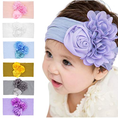 Zohto Spring Summer Easter Gift, Lovely Solid Pink Headwear Accessories ()