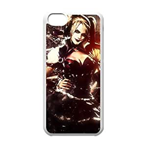 harley quinn batman arkham knight iPhone 5c Cell Phone Case White Customize Toy zhm004-7418603