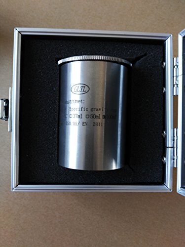 Density Specific Gravity Cups 37cc//ml 50cc//ml 100cc//ml Stainless steel fast ship