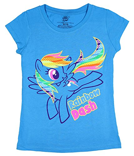My Little Pony Rainbow Dash Shirt For Girls (Medium - 7/8)