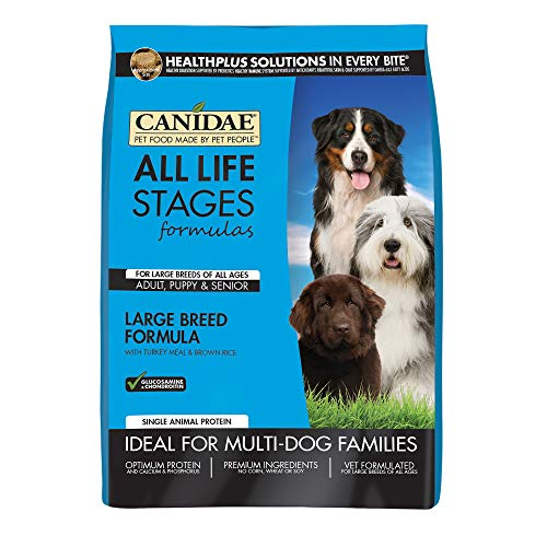 Canidae All Life Stages Large Breed Dog Dry Food Turkey Meal & Brown Rice Formula (Rice Dry Brown Formula)