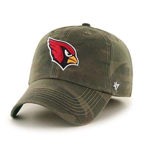 NFL Arizona Cardinals Harlan Franchise Fitted Hat, Large, Sandalwood