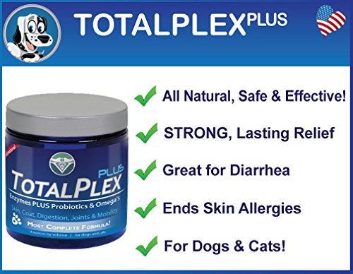Picture of Evolution Pets Advanced Probiotics & Omega's Doggie Tummy & Digestive Issues - TotalPlex Plus Relief Dog Diarrhea, Digestive Problems, Constant Scratching Immune System Improvement. 100% Guaranteed!