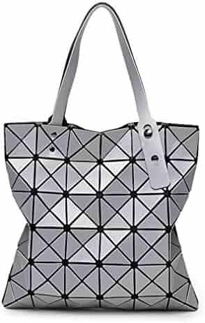54c5a4bdc170 Fashion Diamond Women Bao Bags Geometry Matte Handbag Female Geometric  Casual Tote Lady Shoulder Bag Top
