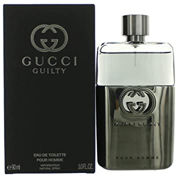 47cda9c31a97 Gucci Guilty by Gucci for Men - 3 oz EDT Spray  Amazon.ca  Beauty